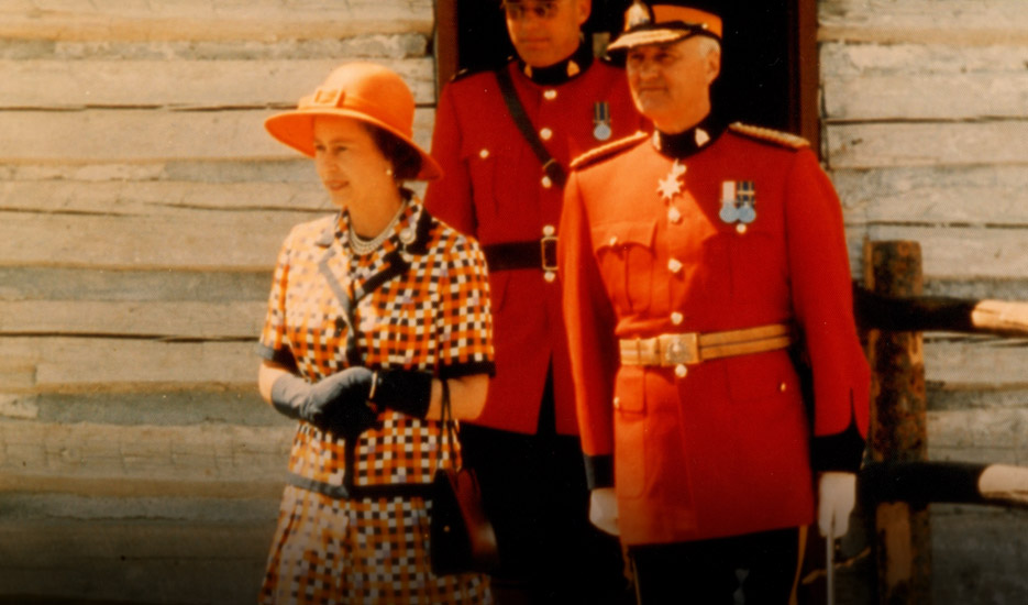 Queen Elizabeth Has Visited The Stampede Four Times Once